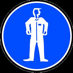 munkavédelem védőruha tábla 3